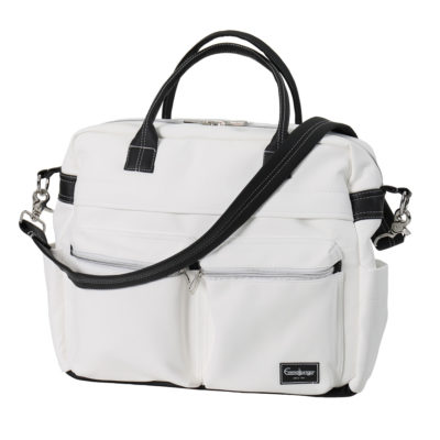 Skötväska Travel - Leatherette White