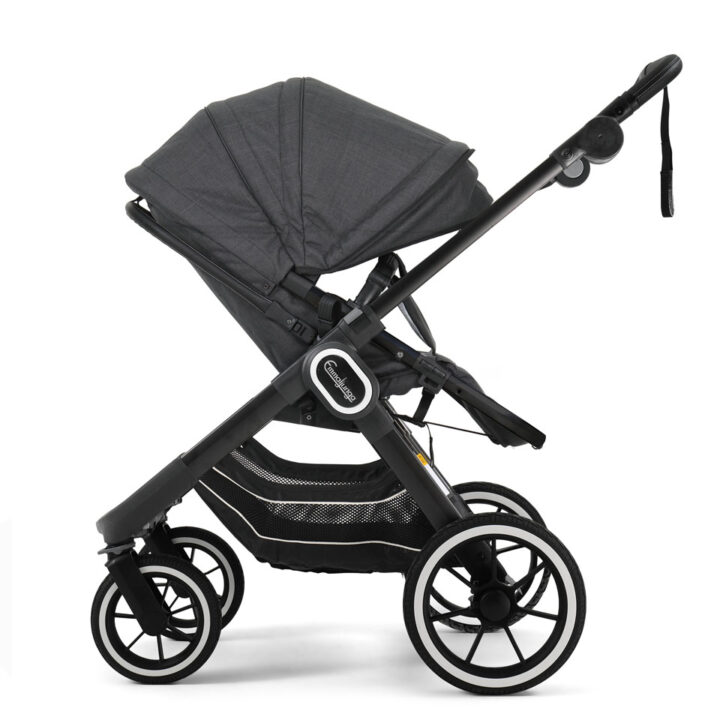 NXT90 2in1 Lounge Black Black Chassi Sittdel