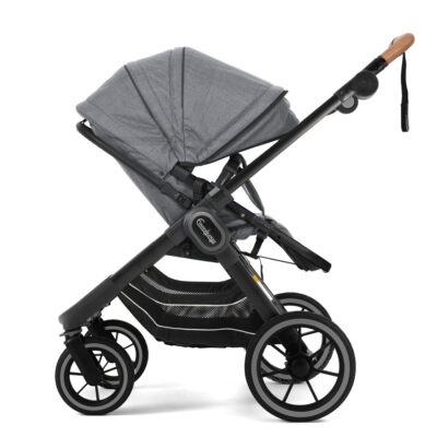 NXT90 2in1 Lounge Grey Black Outdoor Chassi Sittdel