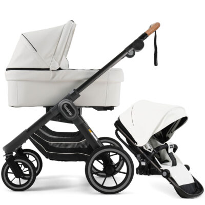 NXT90 Duo Leatherette White Black Outdoor Chassi