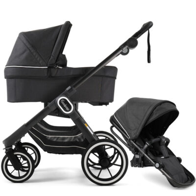 NXT90 Duo Lounge Black Black Chassi