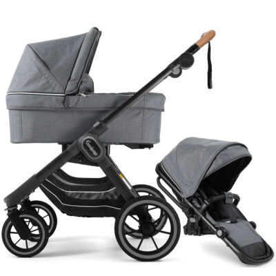 NXT90 Duo Lounge Grey Black Outdoor Chassi