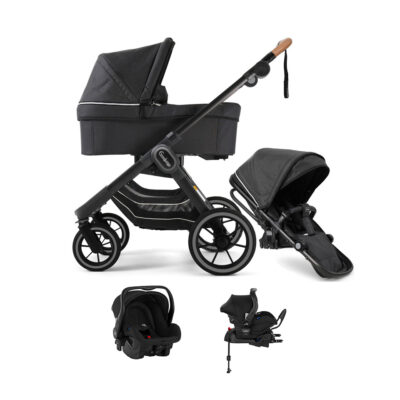 NXT90 Duo Lounge Black Black Outdoor Chassi