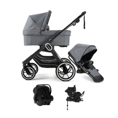NXT90 Duo Lounge Grey Black Chassi