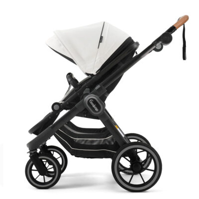 NXT90 ERGO Leatherette White - Black Outdoor Chassi