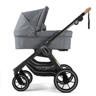 NXT90 Liggdel Lounge Grey - Black Outdoor Chassi